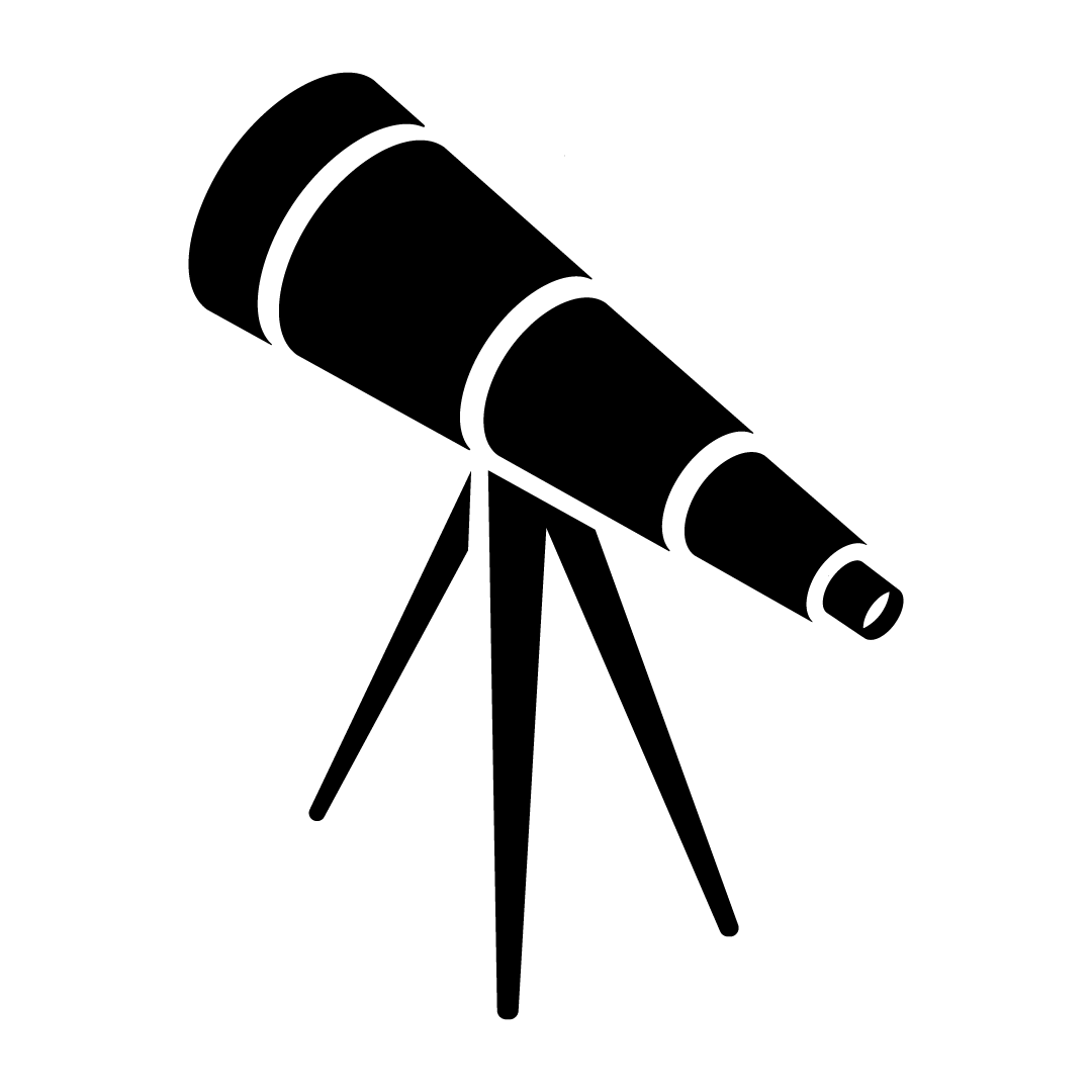 telescope blog icon